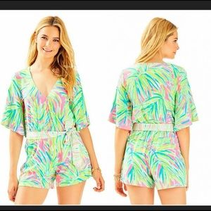 Lilly Pulitzer madilyn romper jumpsuit small NWT